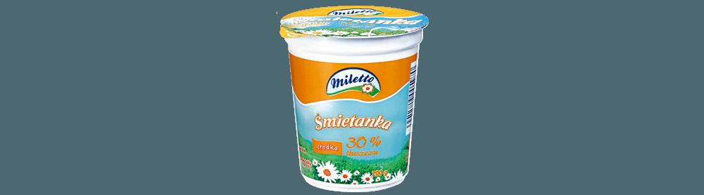 Śmietanka Miletto 30%